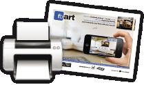 Print the target - Realidad aumentada para impresión de lienzos de fotos de Facebook