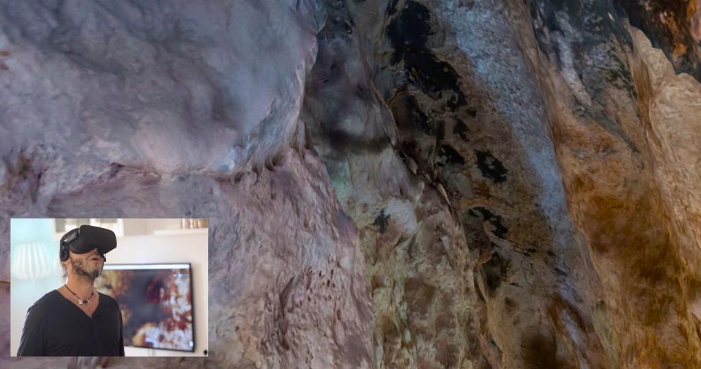 VR realidad virtual cuevas cieza, murcia, arqueología