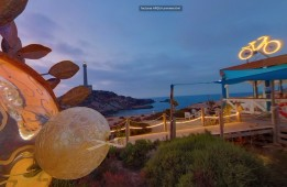Tour Virtual Chiringuito Verano Azul, Cabo de Palos, Cartagena, Murcia. Visita virtual para página web + Google Maps / Google Street View